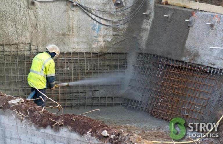 торкретирование бетона цена